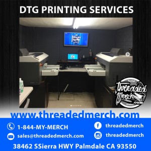 We use the Best  Direct To Garment Printers