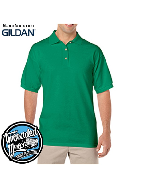 Gildan #G8800 Gildan Adult Heavy Cotton™ 6 oz. 50/50 Jersey Polo