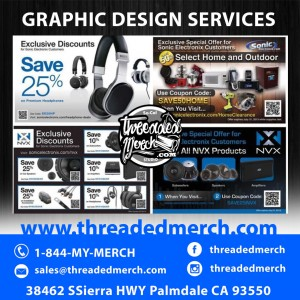 Promotional Graphics - Flyer - Email Blasts