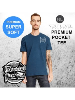NEXT LEVEL 3605 COTTON POCKET CREW