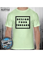 1301 Alstyle Men's Short Sleeve T Shirt 100% Cotton