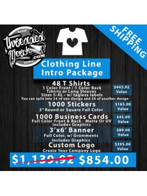 Clothing Line Intro Package
